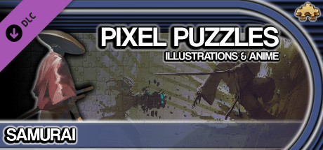 Pixel Puzzles Illustrations & Anime - Jigsaw Pack: Samurai