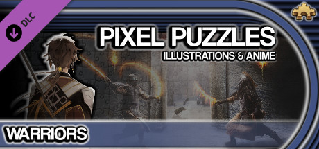 Pixel Puzzles Illustrations & Anime - Jigsaw Pack: Warriors