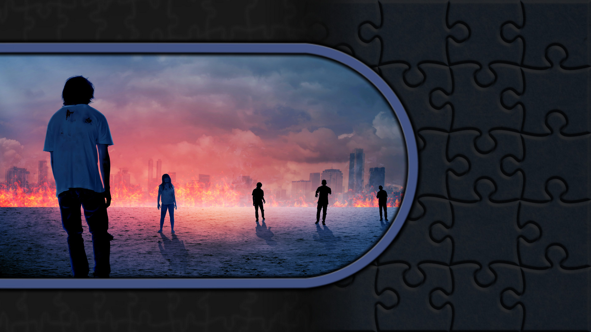 Pixel Puzzles Illustrations & Anime - Jigsaw Pack: Zombies screenshot