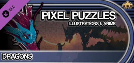 Pixel Puzzles Illustrations & Anime - Jigsaw Pack: Dragons