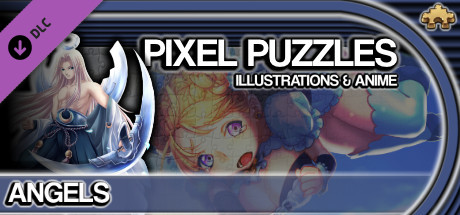 Pixel Puzzles Illustrations & Anime - Jigsaw Pack: Angels