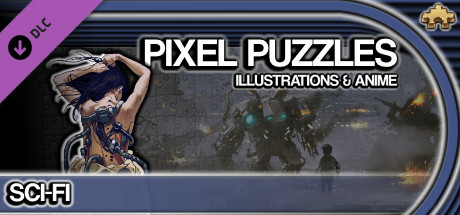 Pixel Puzzles Illustrations & Anime - Jigsaw Pack: Sci-Fi
