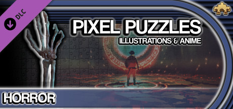 Pixel Puzzles Illustrations & Anime - Jigsaw Pack: Horror