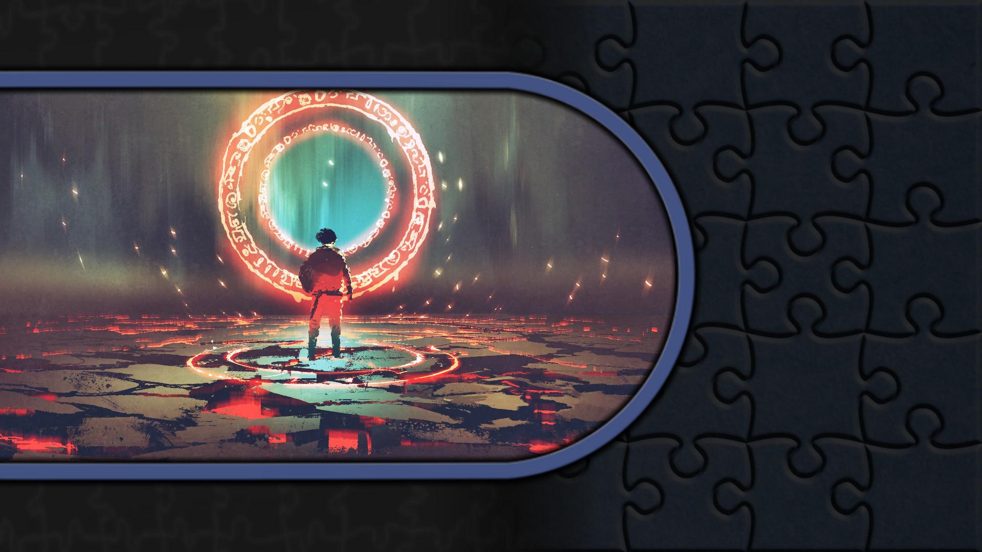 Pixel Puzzles Illustrations & Anime - Jigsaw Pack: Horror screenshot