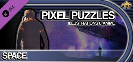 Pixel Puzzles Illustrations & Anime - Jigsaw Pack: Space