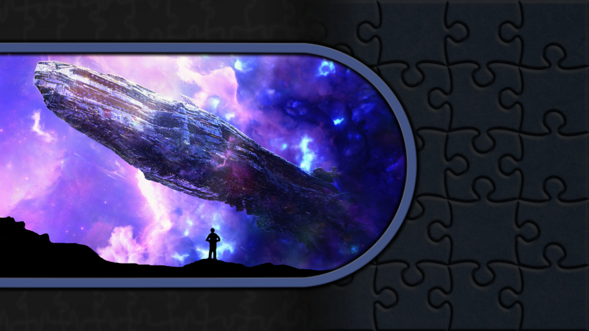Pixel Puzzles Illustrations & Anime - Jigsaw Pack: Space screenshot