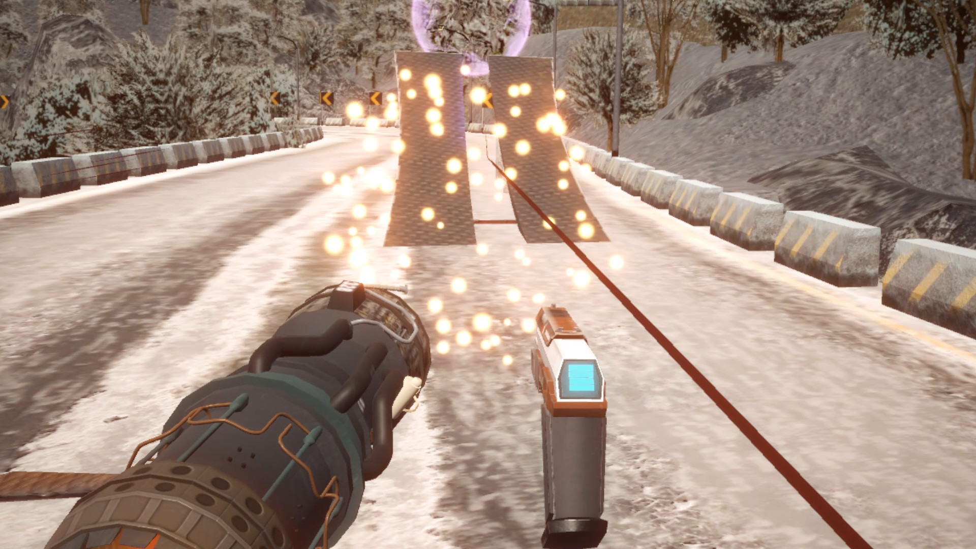 Rocket Skates VR screenshot
