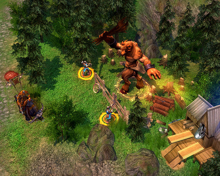 Heroes of Might & Magic V: Tribes of the East screenshot