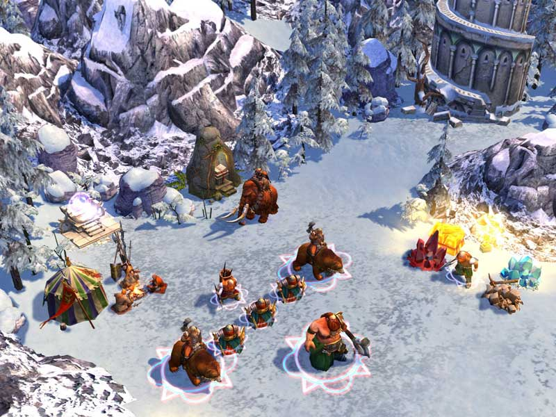 Heroes of Might & Magic V: Hammers of Fate screenshot