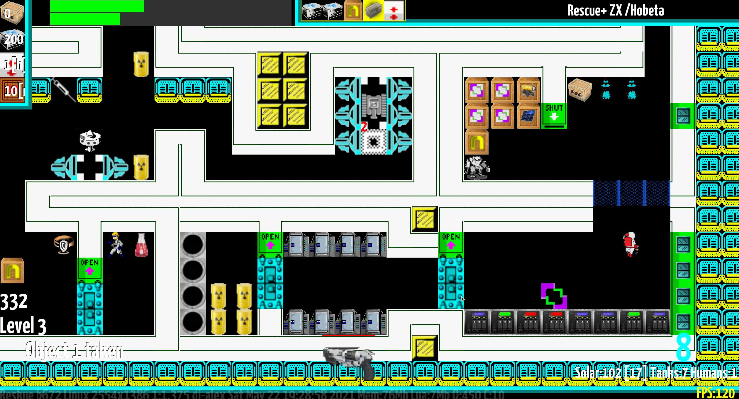Reskue screenshot