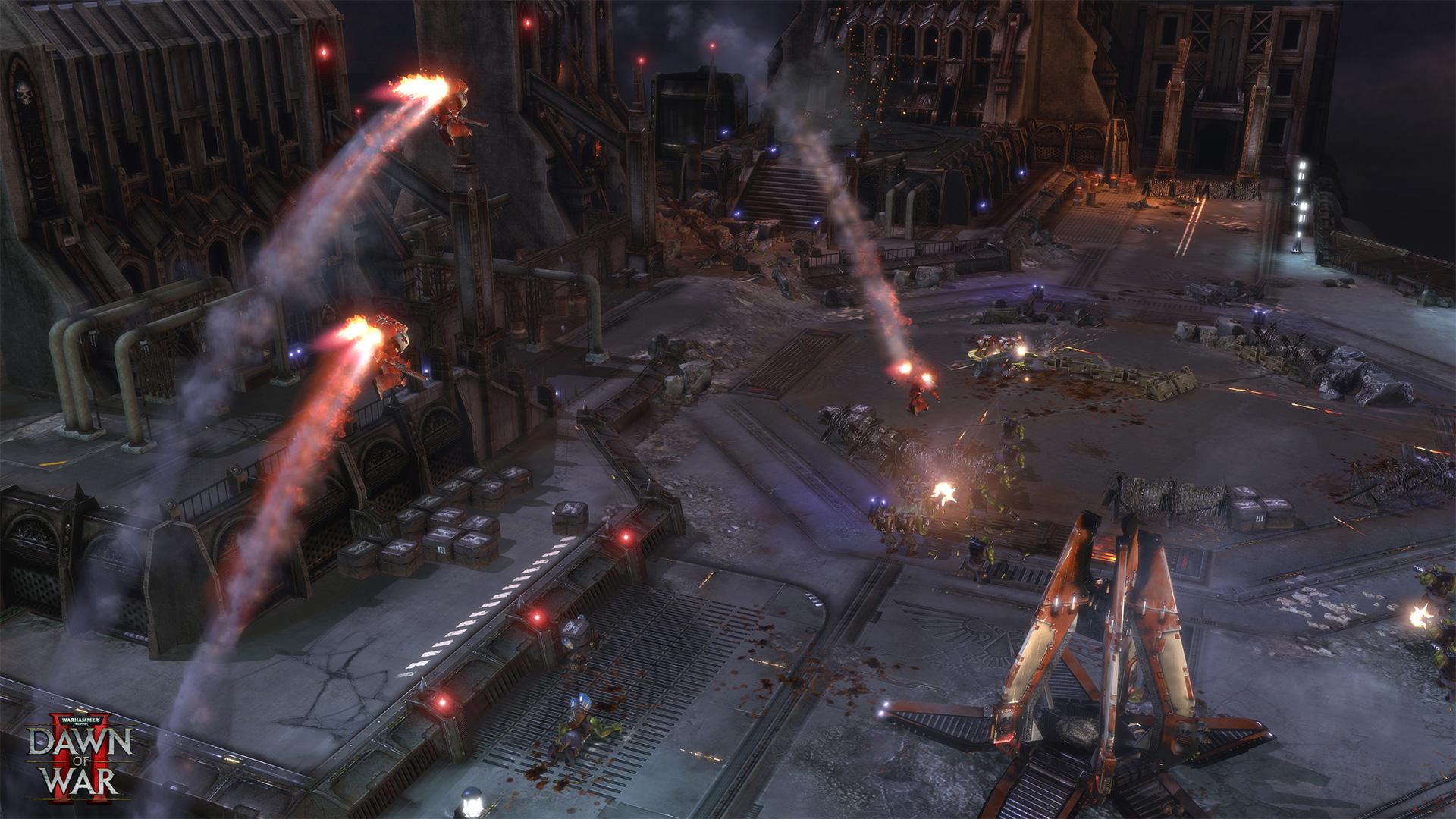 (Warhammer 40,000 DOW 2, Relic Entertainment)