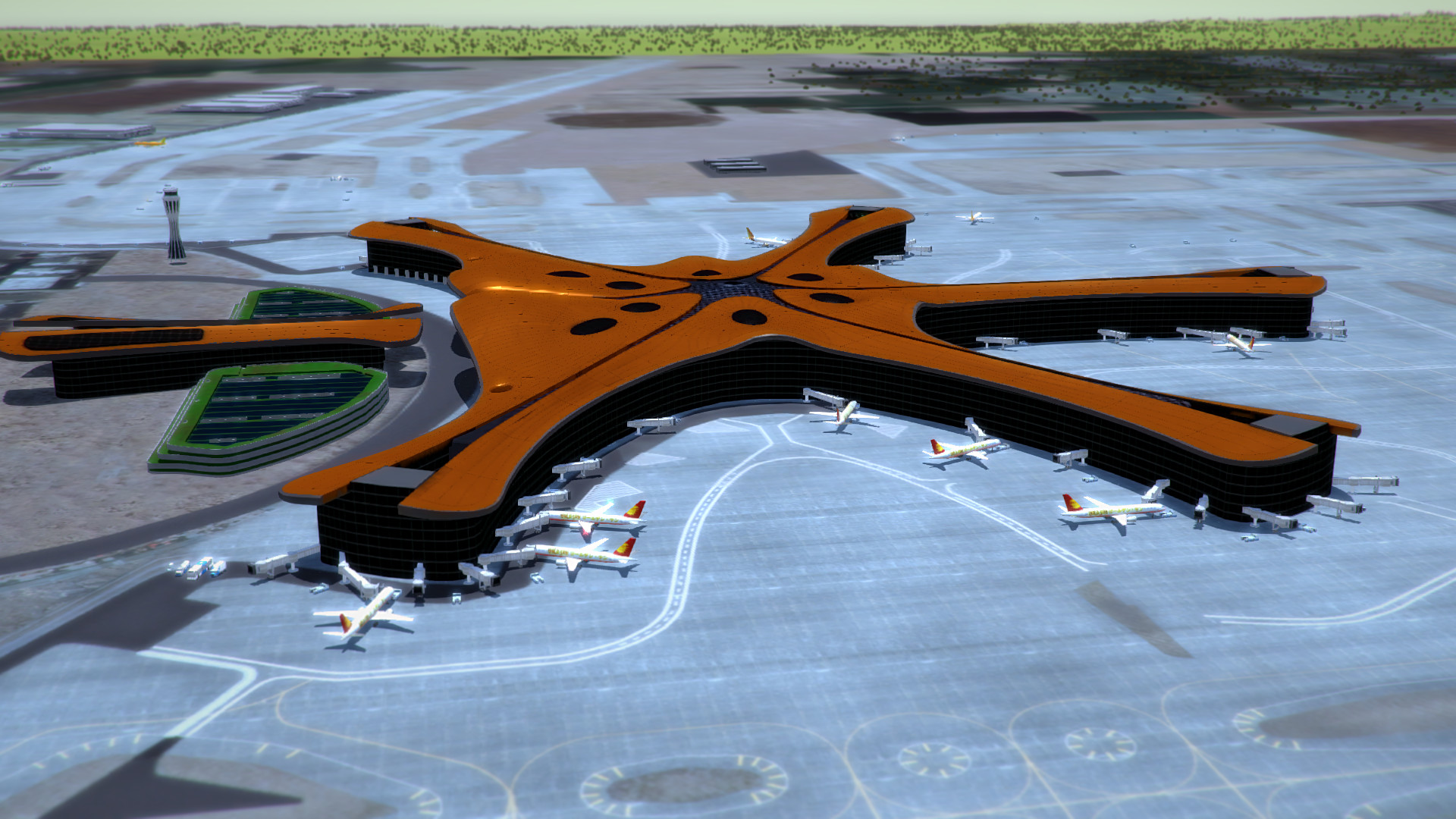 Tower!3D Pro - ZBAD airport screenshot