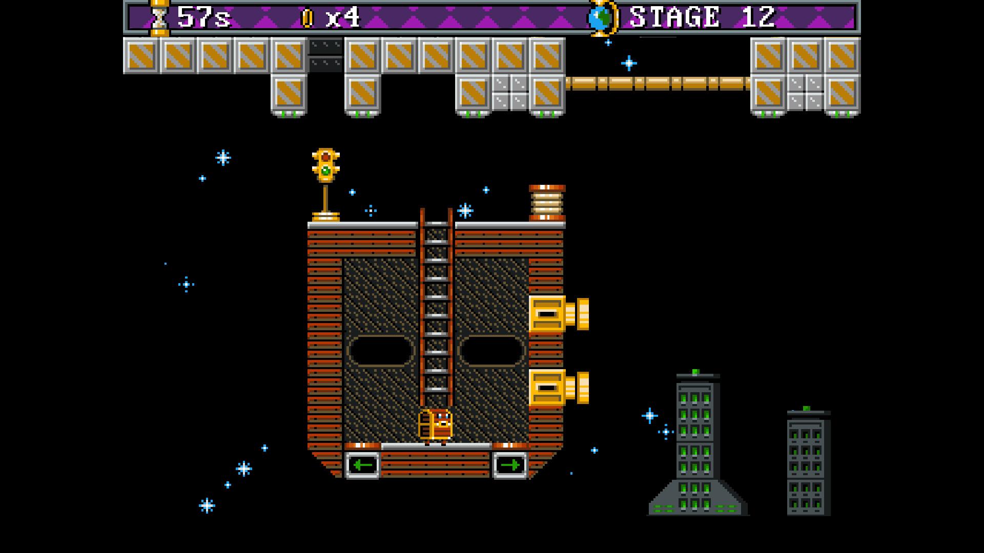 Captain Coffer 2D screenshot