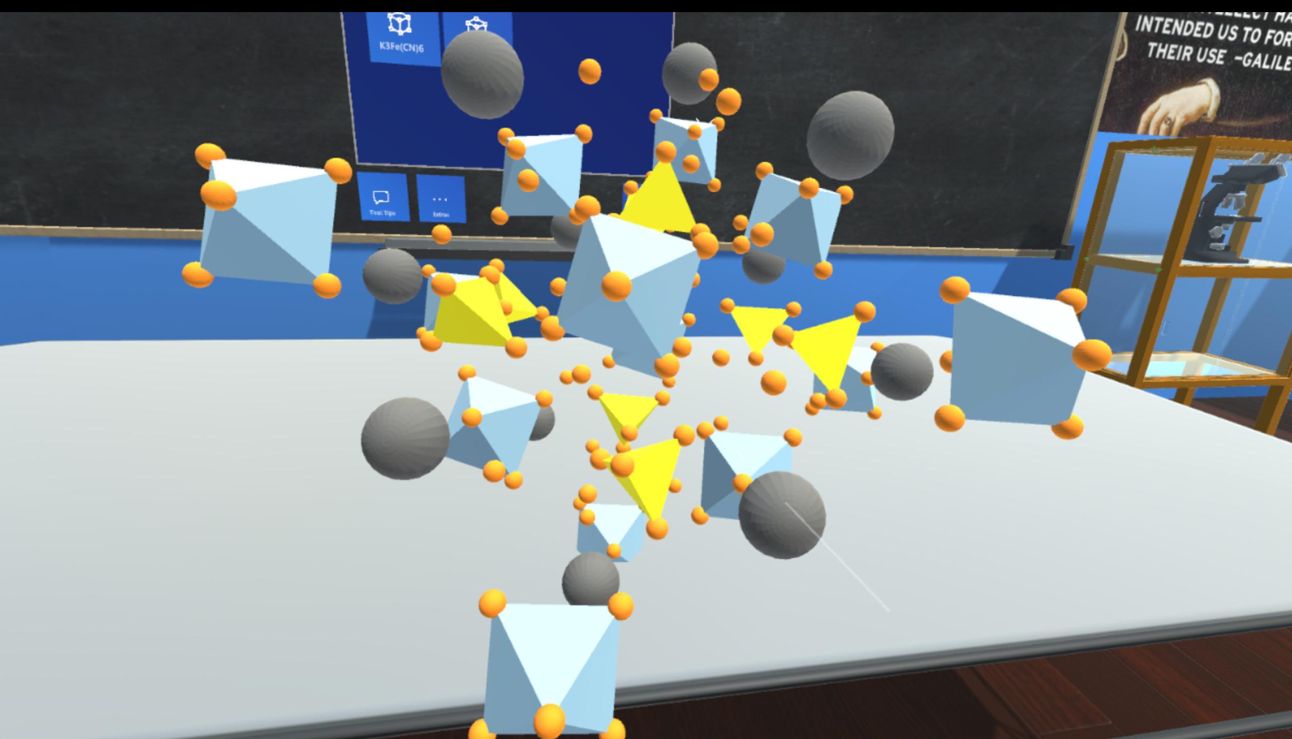 Materials VR screenshot