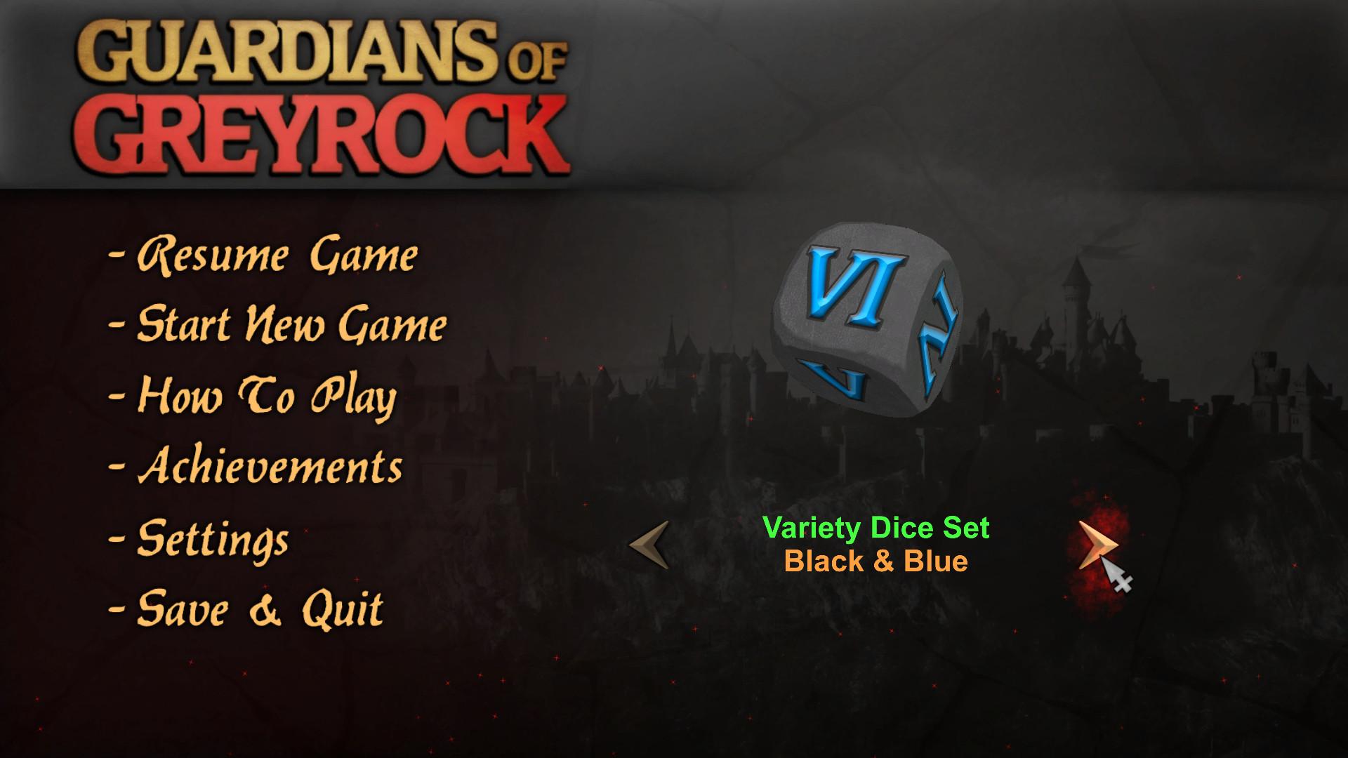 Guardians of Greyrock - Dice Pack: Variety Set screenshot