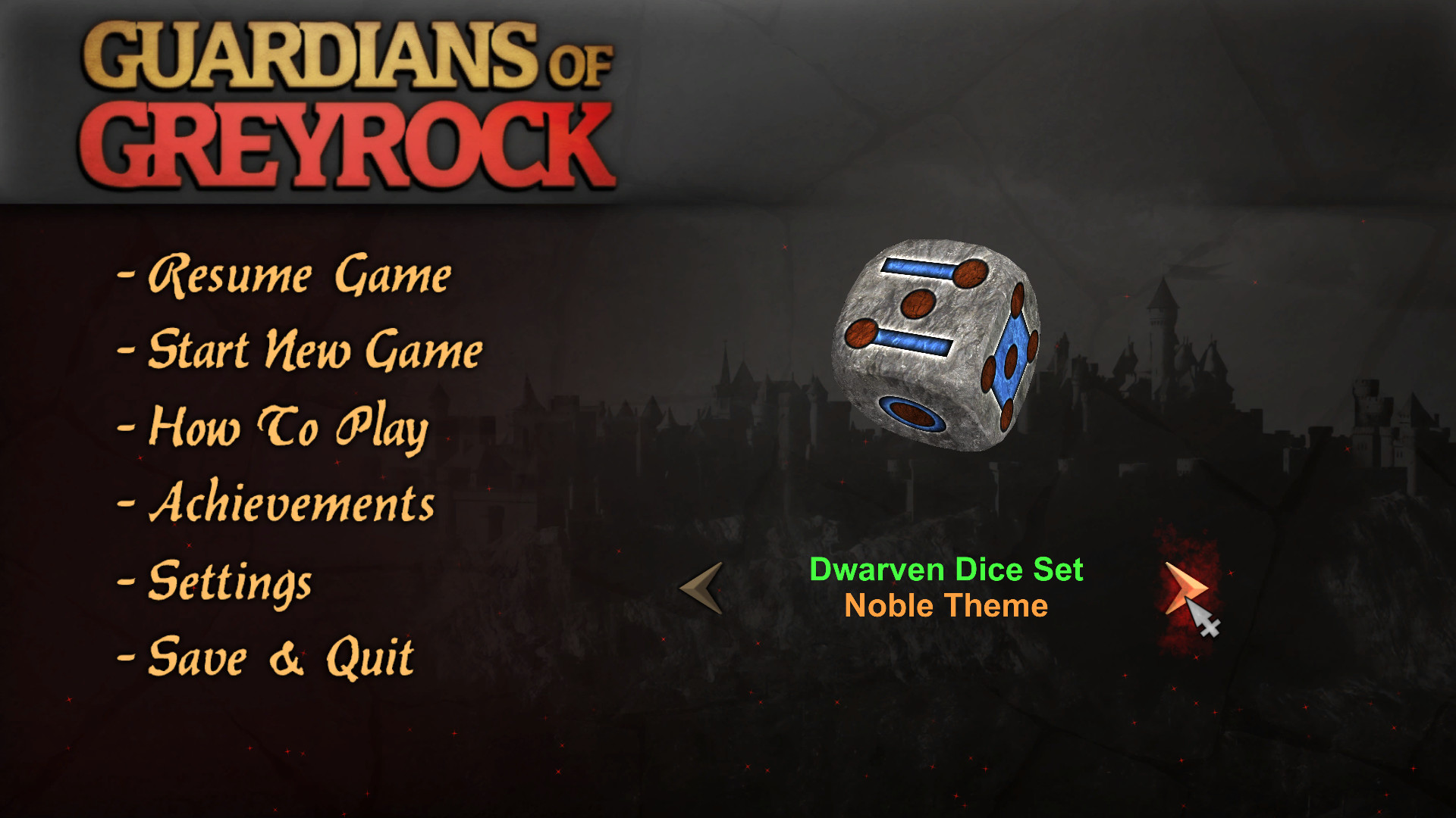 Guardians of Greyrock - Dice Pack: Dwarven Set screenshot
