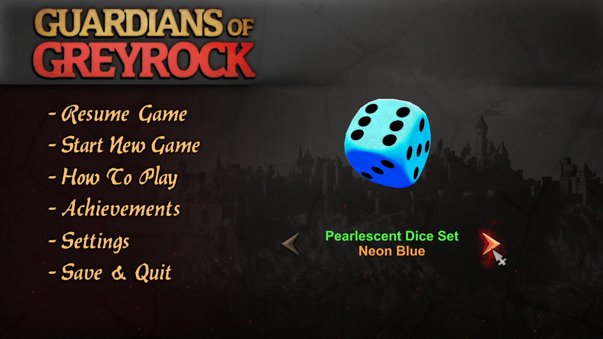 Guardians of Greyrock - Dice Pack: Pearlescent Set screenshot