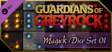 Guardians of Greyrock - Dice Pack: Magick Set 01