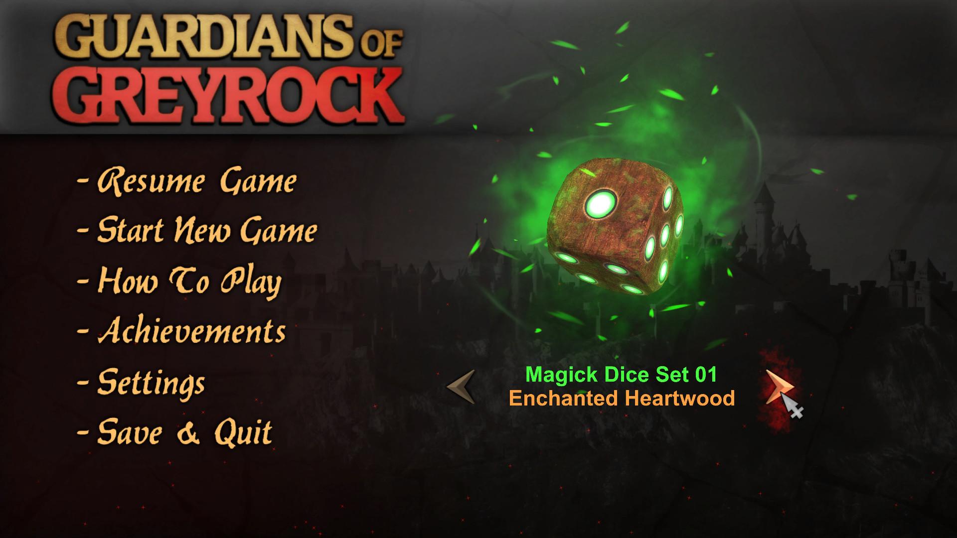 Guardians of Greyrock - Dice Pack: Magick Set 01 screenshot