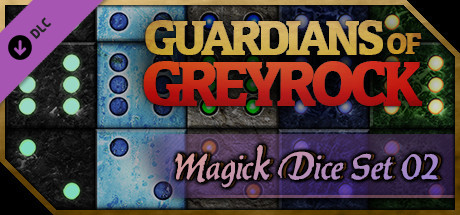 Guardians of Greyrock - Dice Pack: Magick Set 02