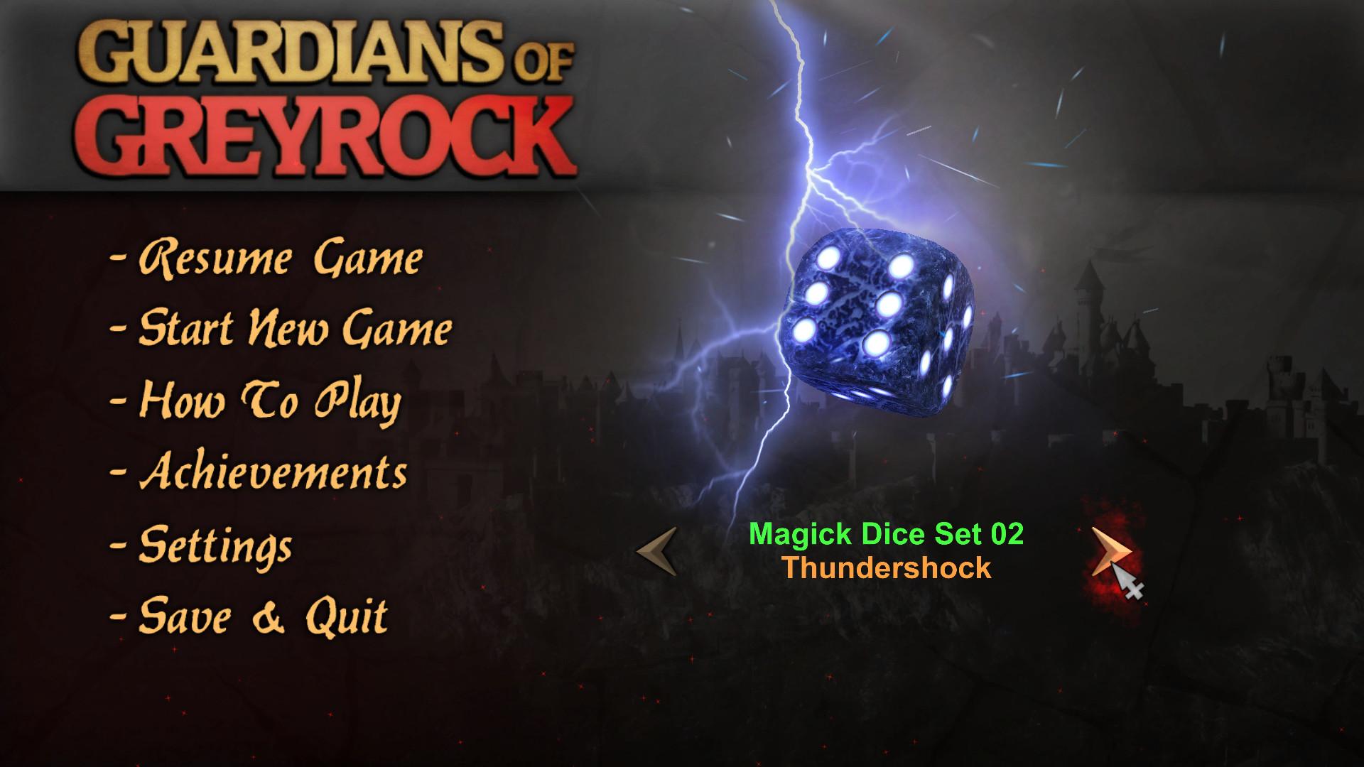 Guardians of Greyrock - Dice Pack: Magick Set 02 screenshot