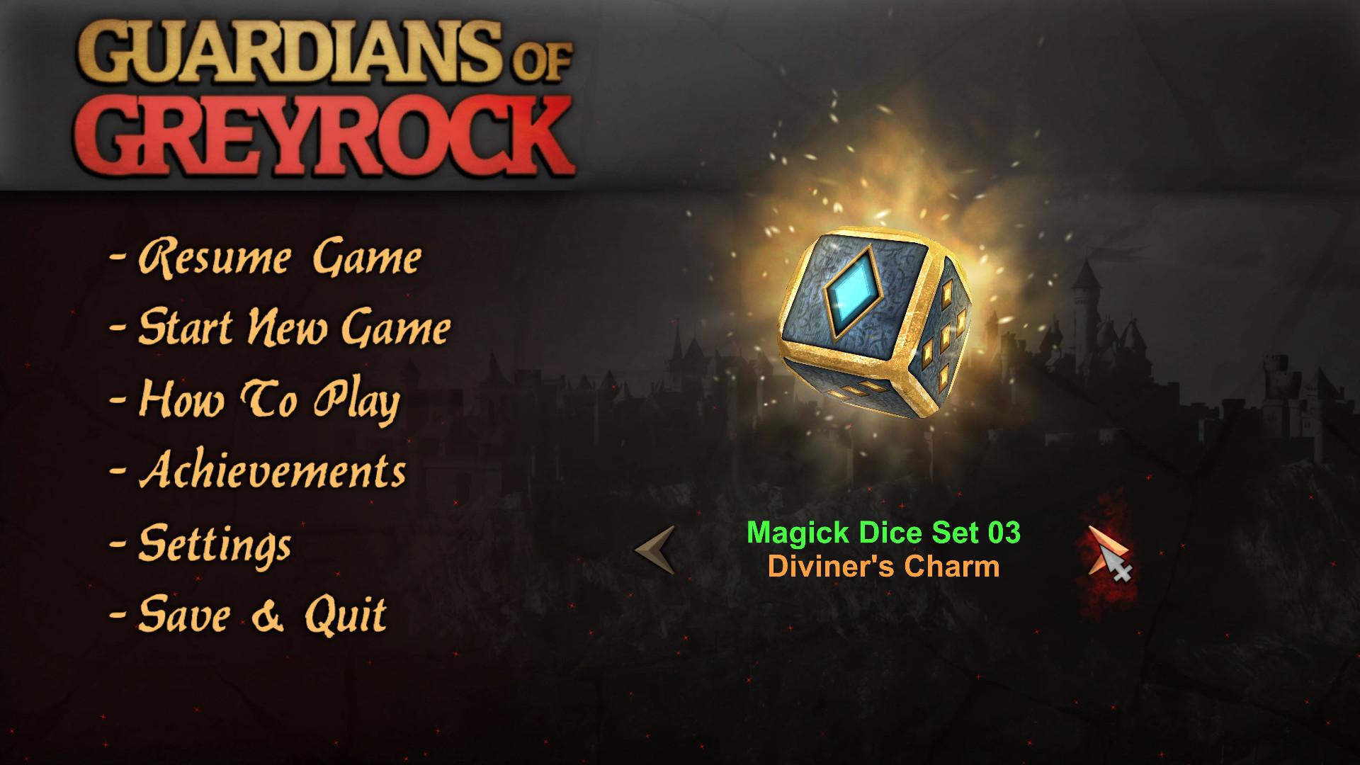 Guardians of Greyrock - Dice Pack: Magick Set 03 screenshot