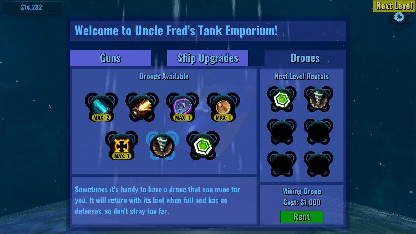 Cosmic Tank screenshot