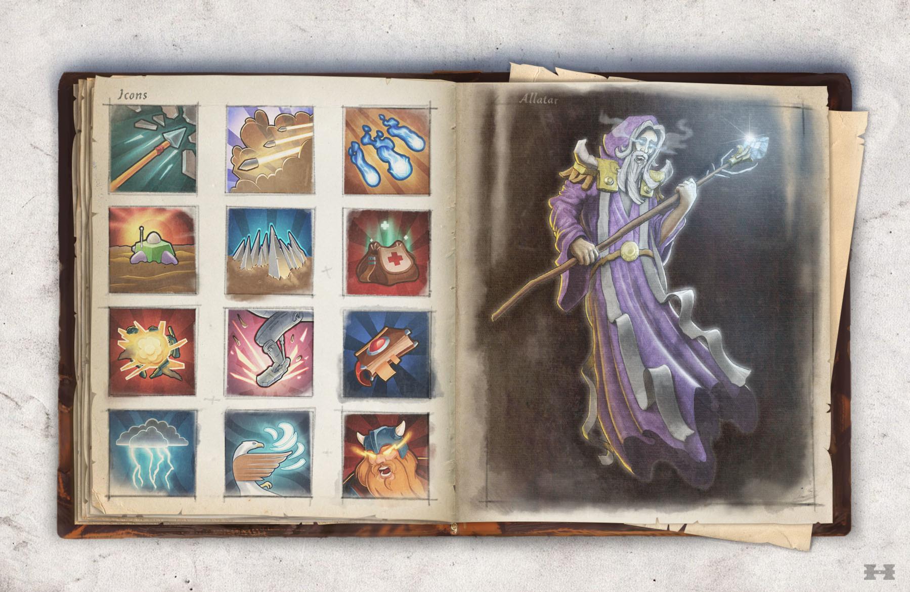 Magicians Legacy: Prologue - Artbook screenshot