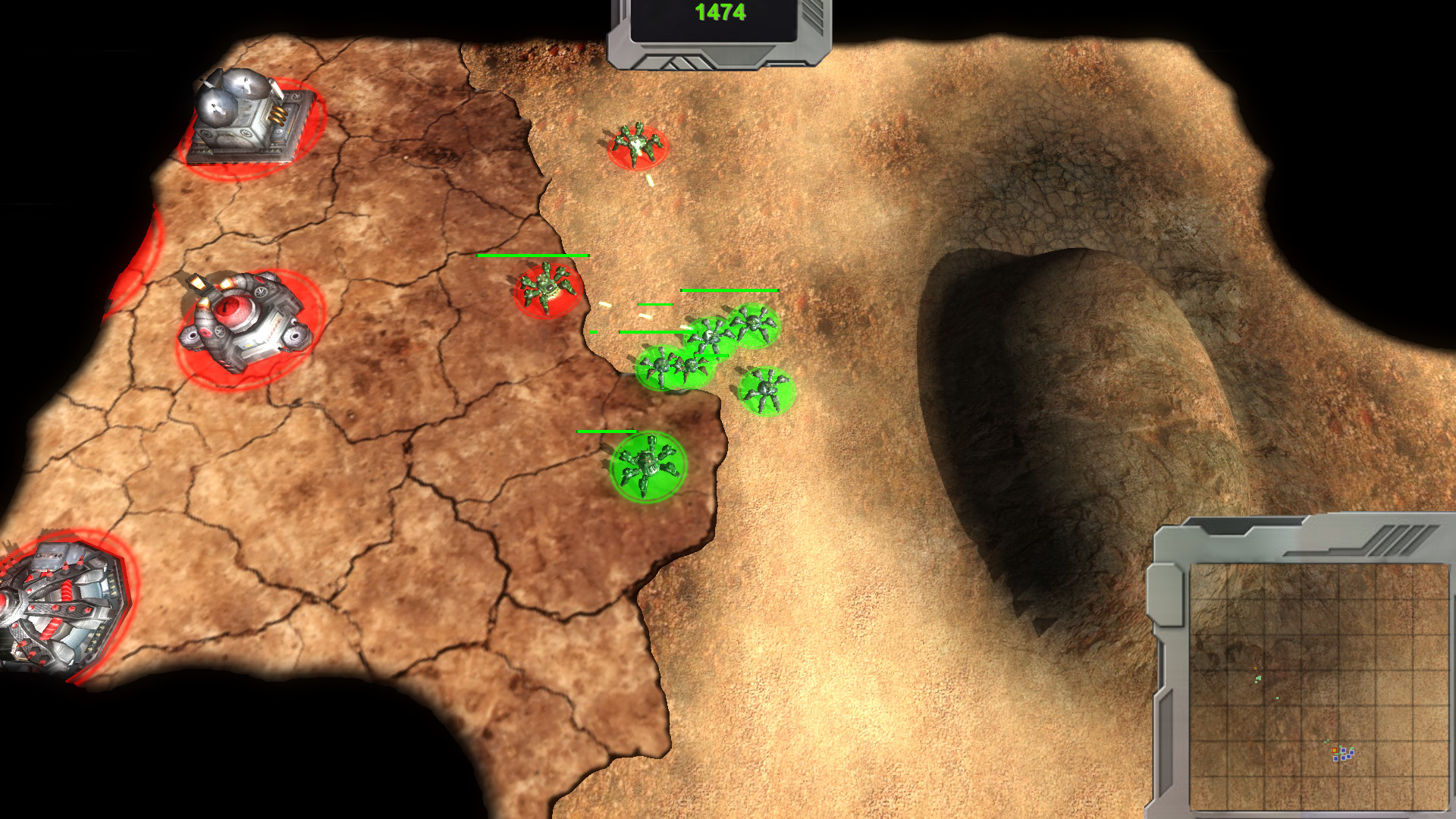 Spider-Robots War screenshot