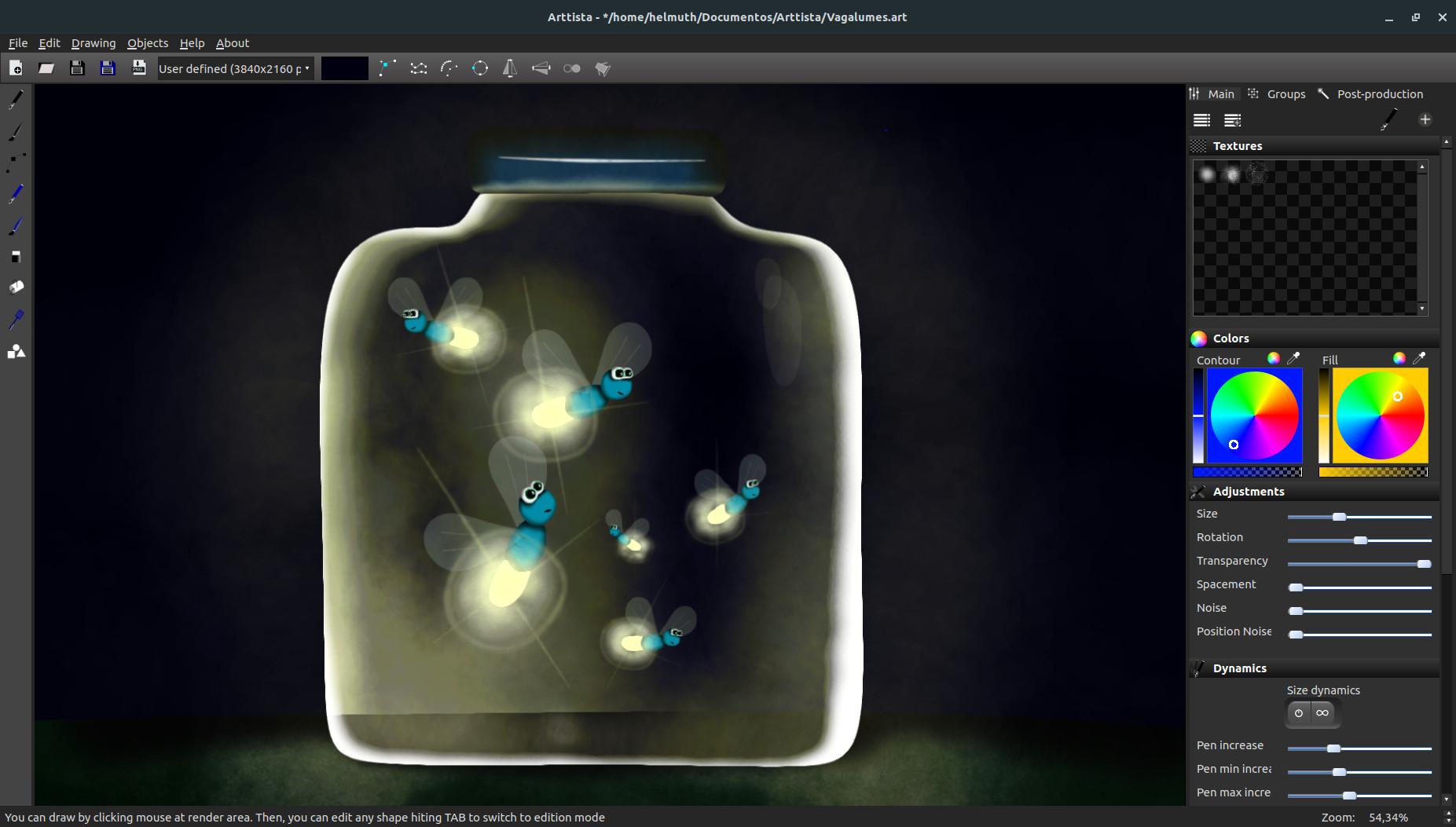 Arttista screenshot