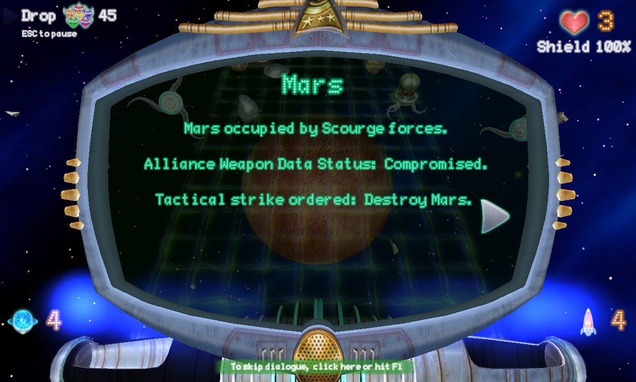 Planet Busters screenshot