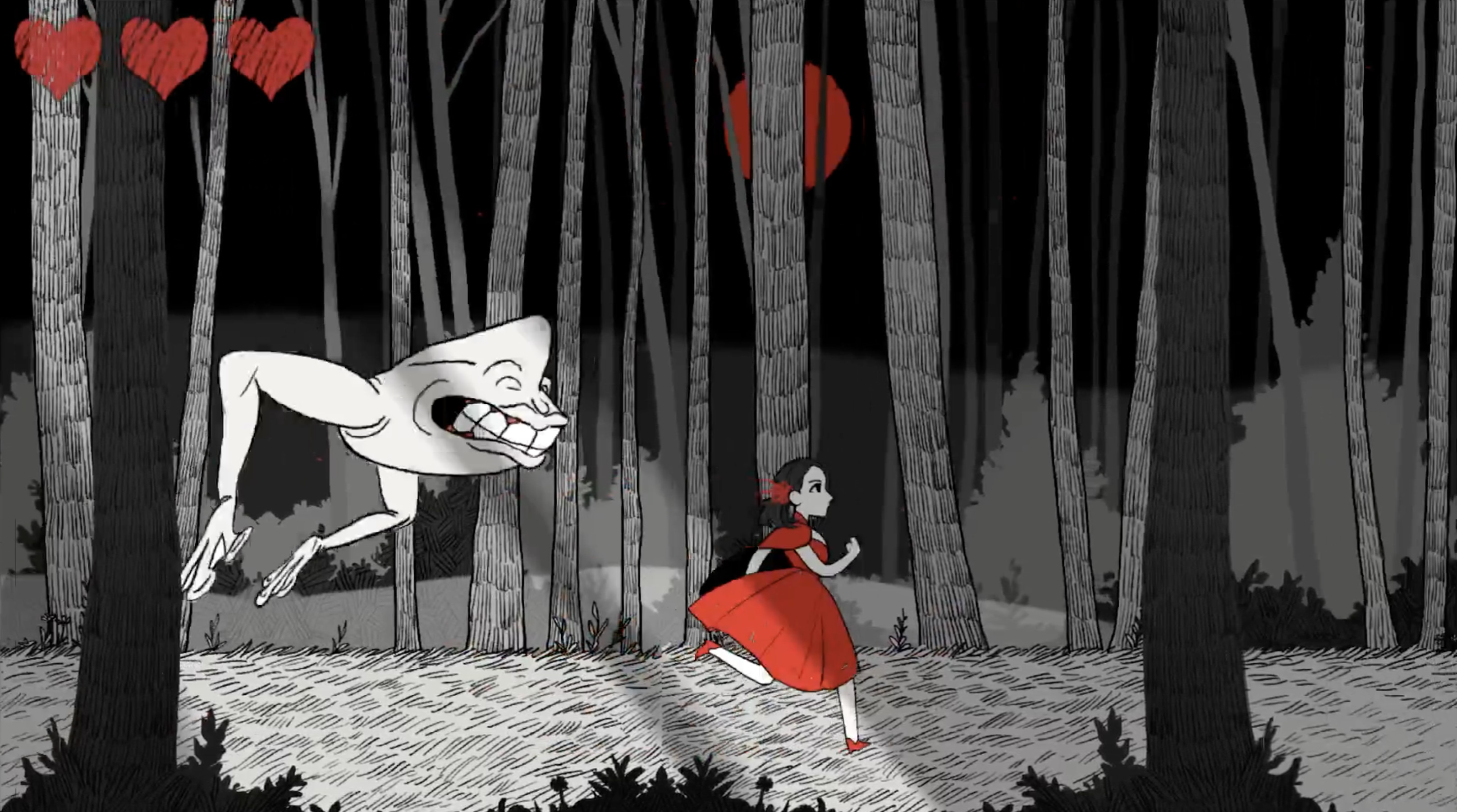 The Little Red Lie screenshot