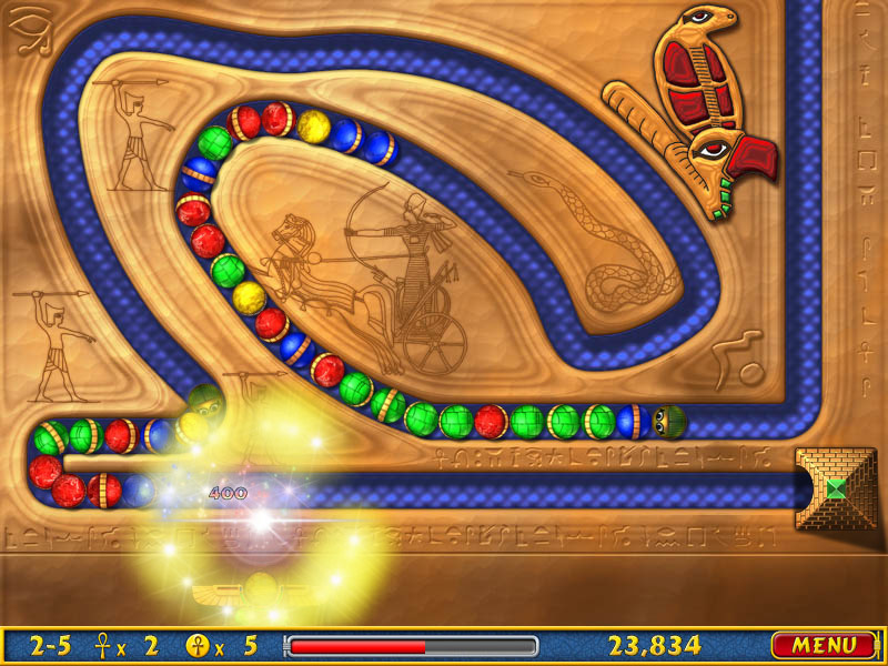 Luxor Amun Rising screenshot