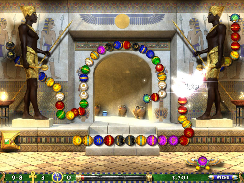 Luxor 2 screenshot