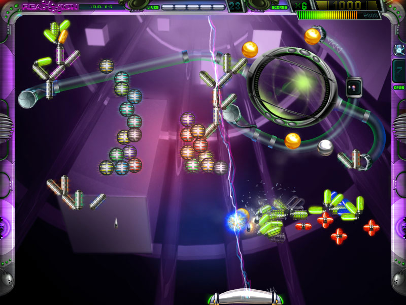 Reaxxion screenshot