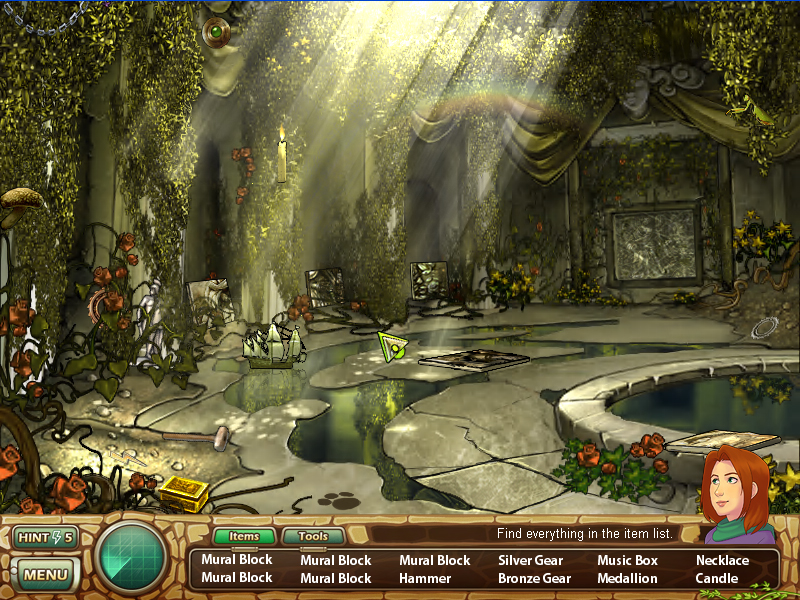 Samantha Swift and the Hidden Roses of Athena screenshot