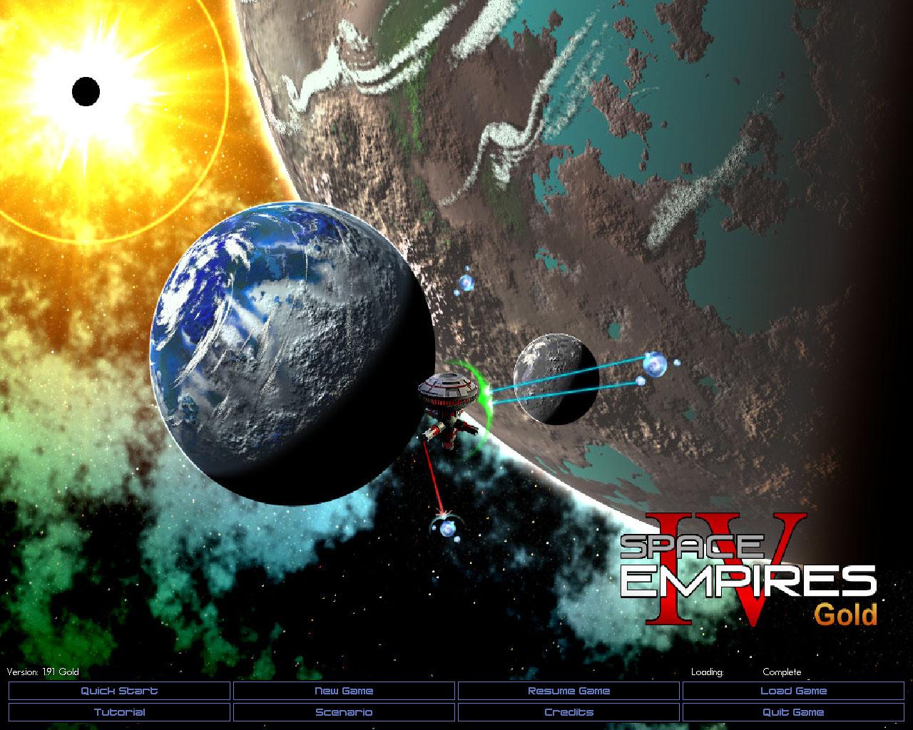 Space Empires IV Deluxe screenshot