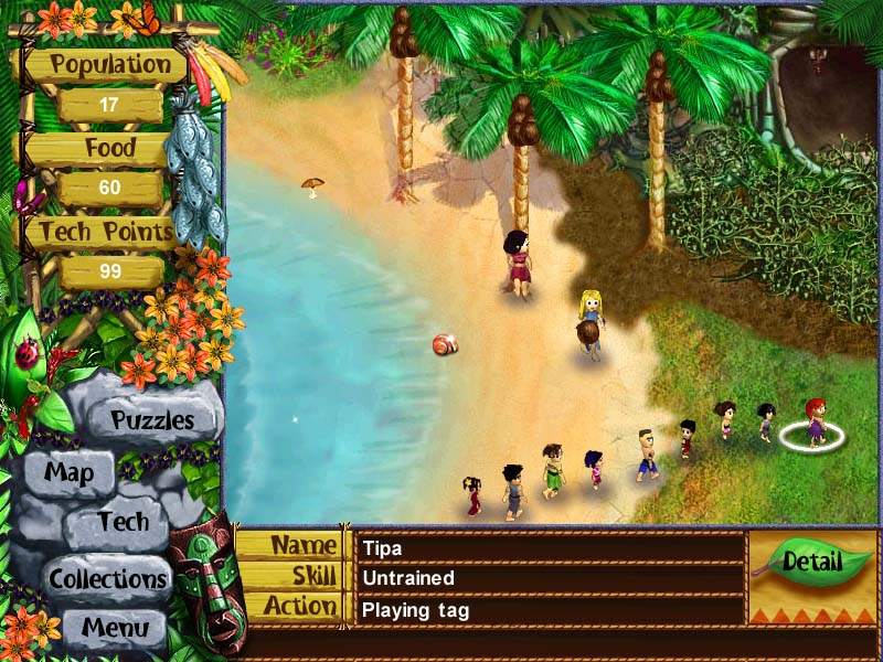 Virtual Villagers: The Lost Children screenshot