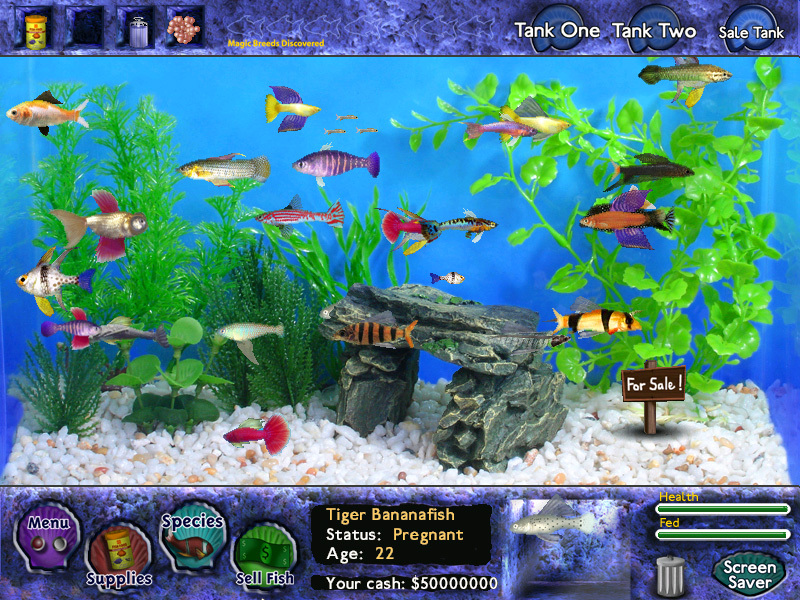 Download fish tycoon full pc game for Fish tycoon 2 cheats