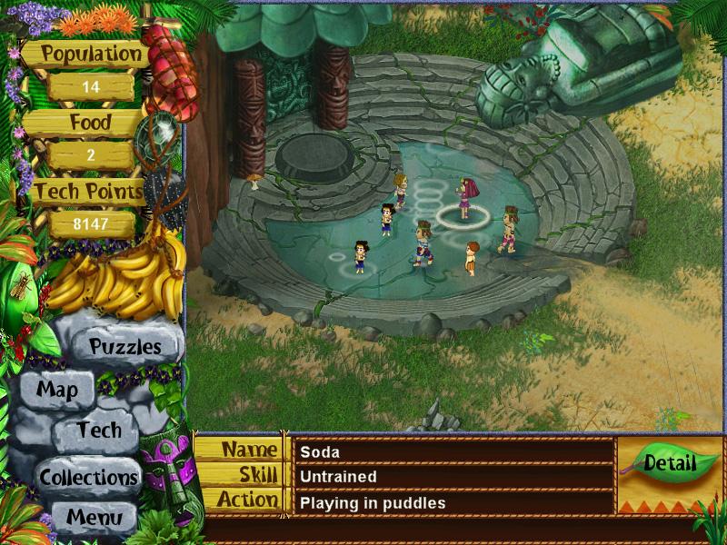 Virtual Villagers - The Secret City screenshot