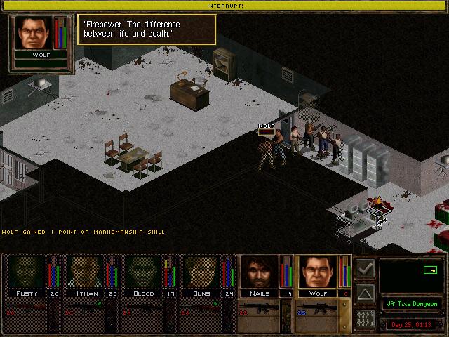 Jagged Alliance 2 Gold screenshot
