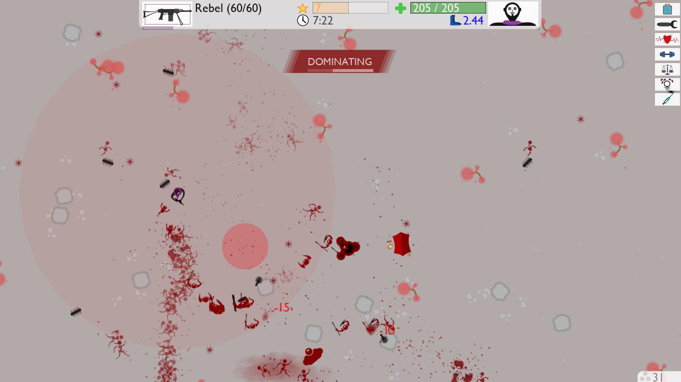 Red Algorithm screenshot