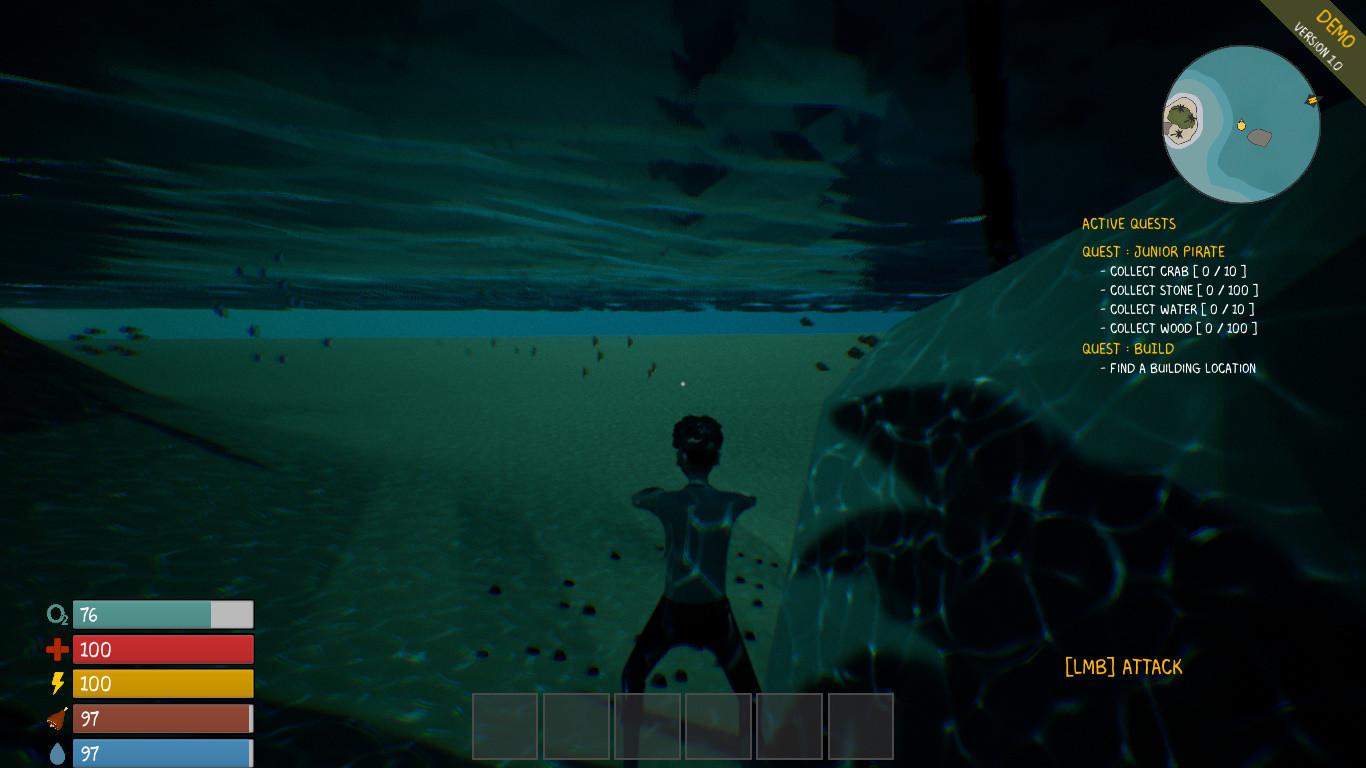 The Pirate King screenshot