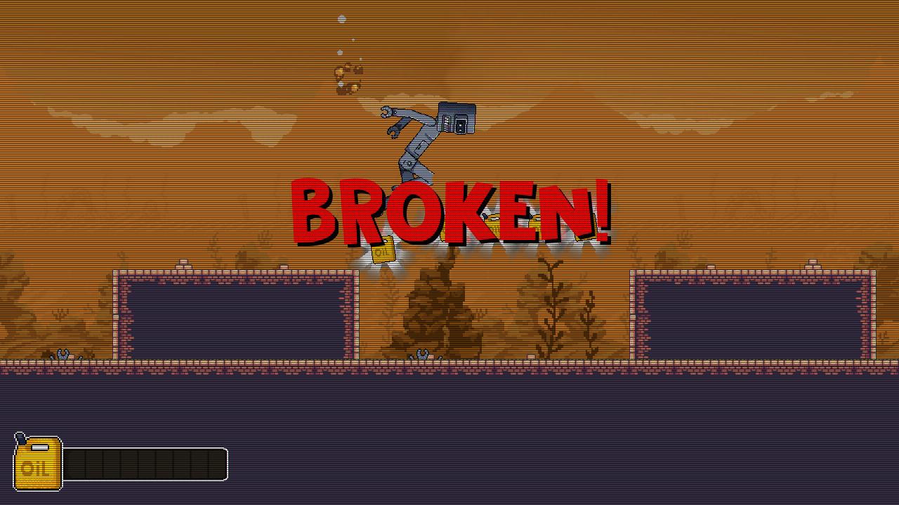 Broken Robot screenshot