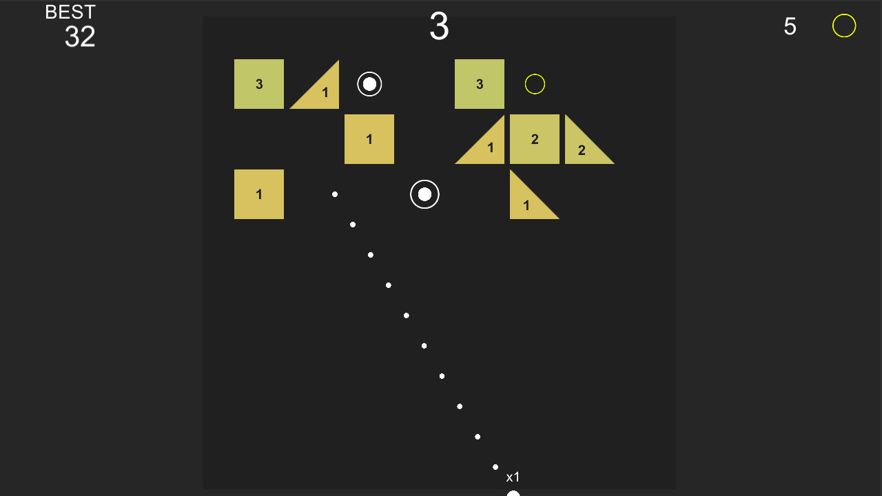 Infinite Brick Breaker screenshot
