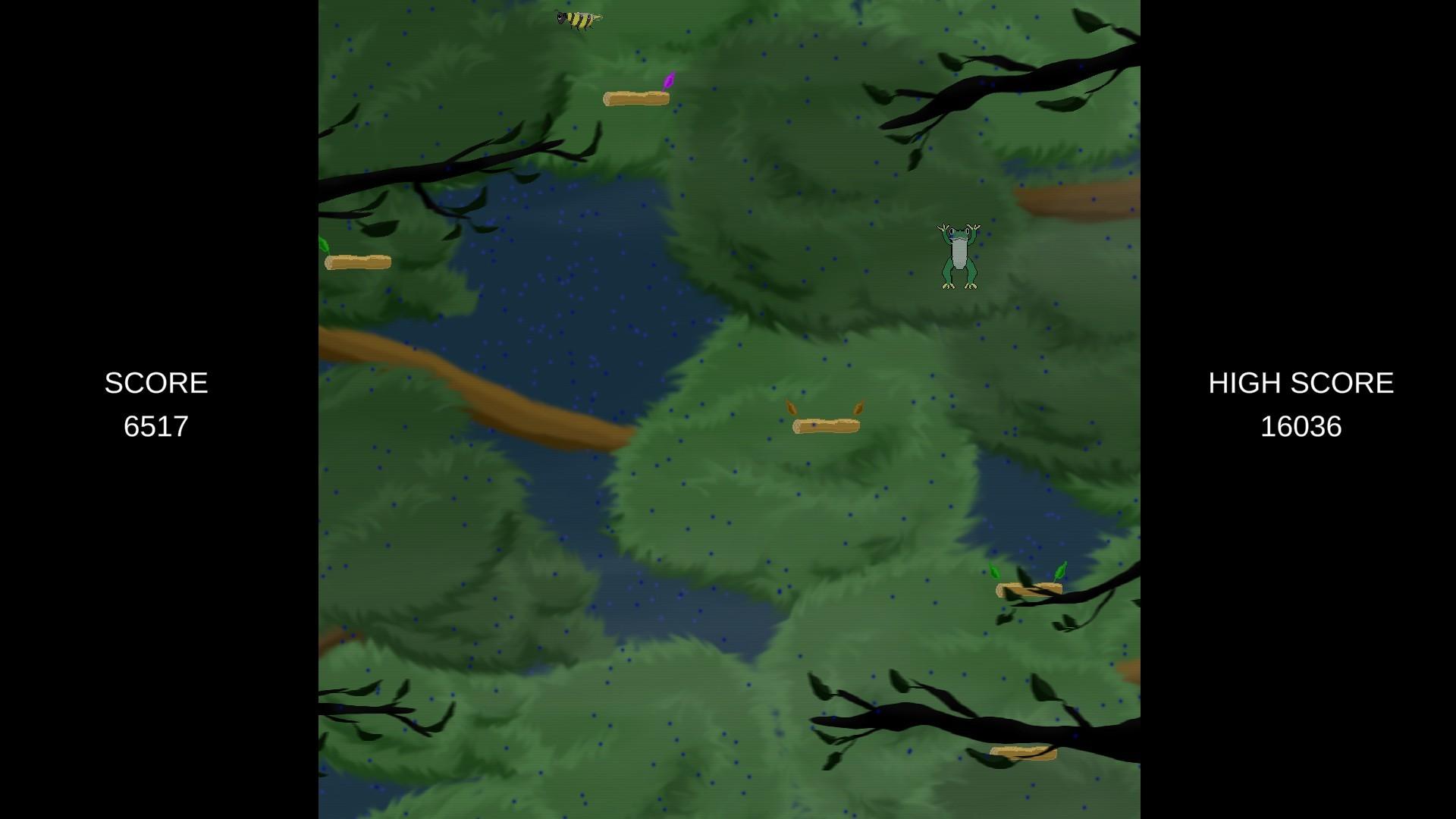 Freddy Frog screenshot