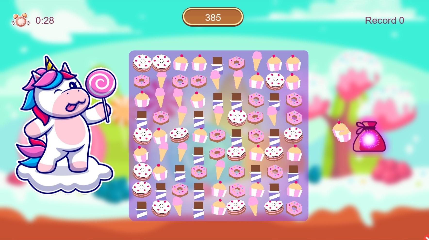 Unicorn and Sweets 2 screenshot