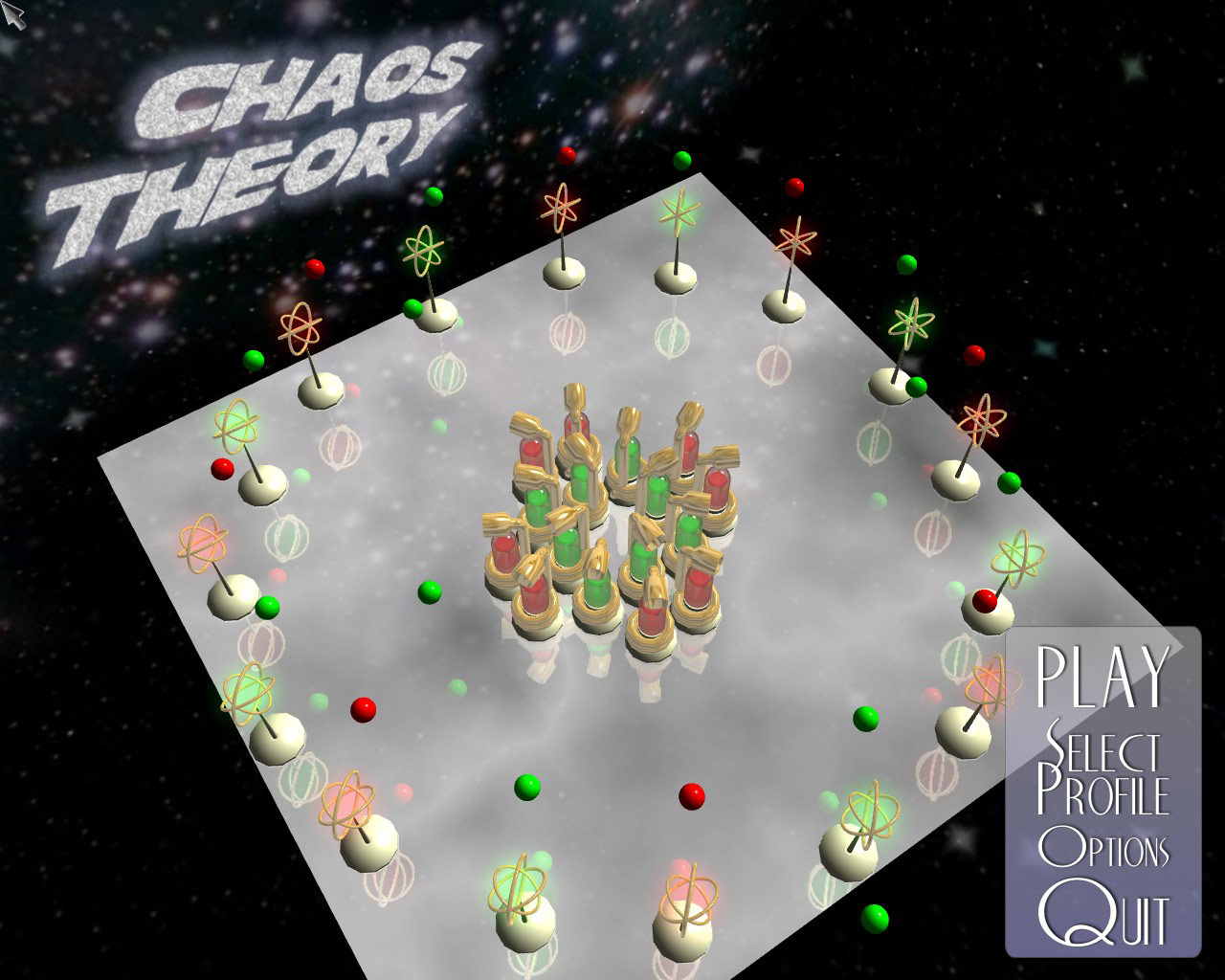 Chaos Theory screenshot