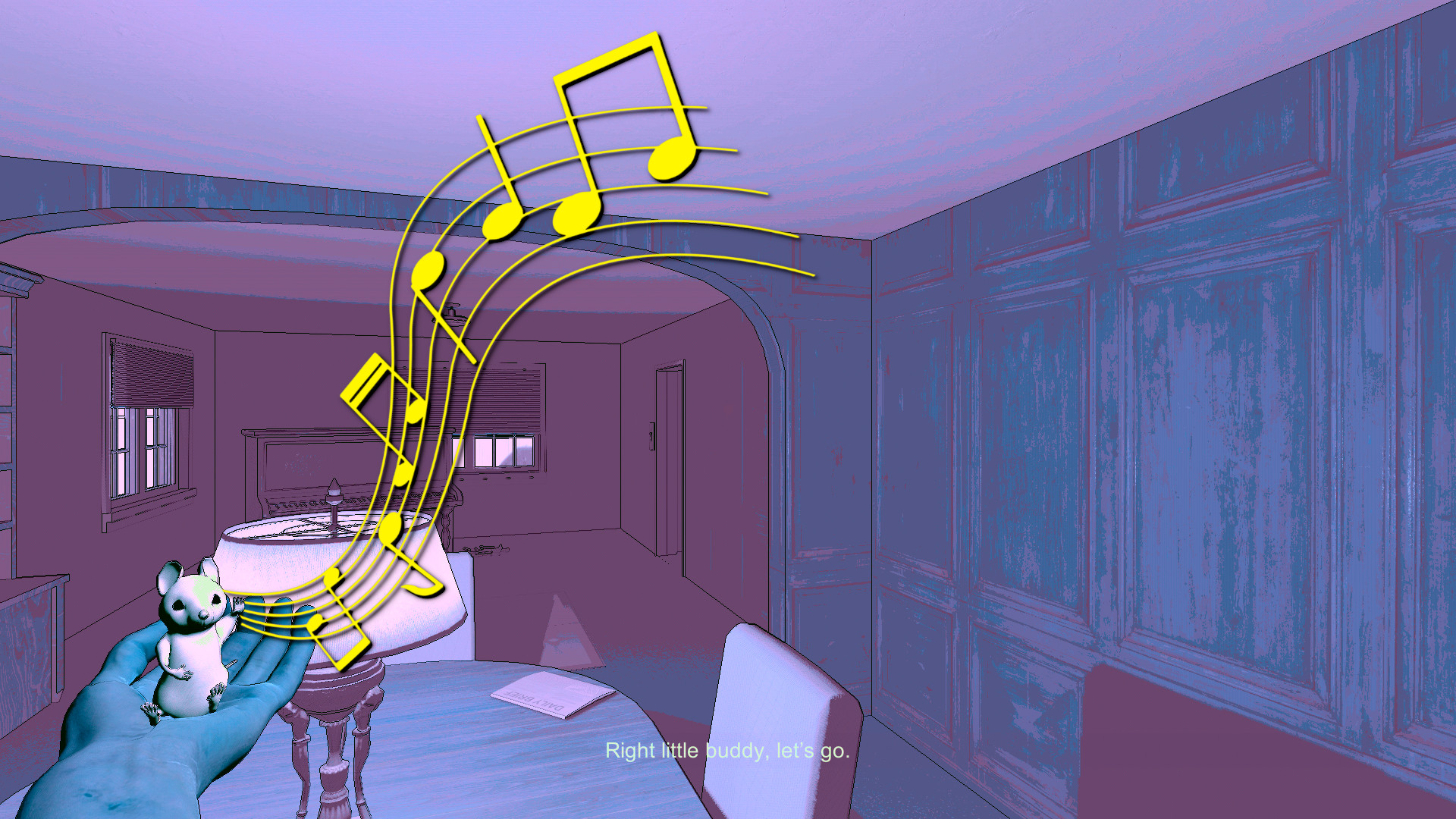 Quintus and the Absent Truth - Original Video Game Soundtrack screenshot