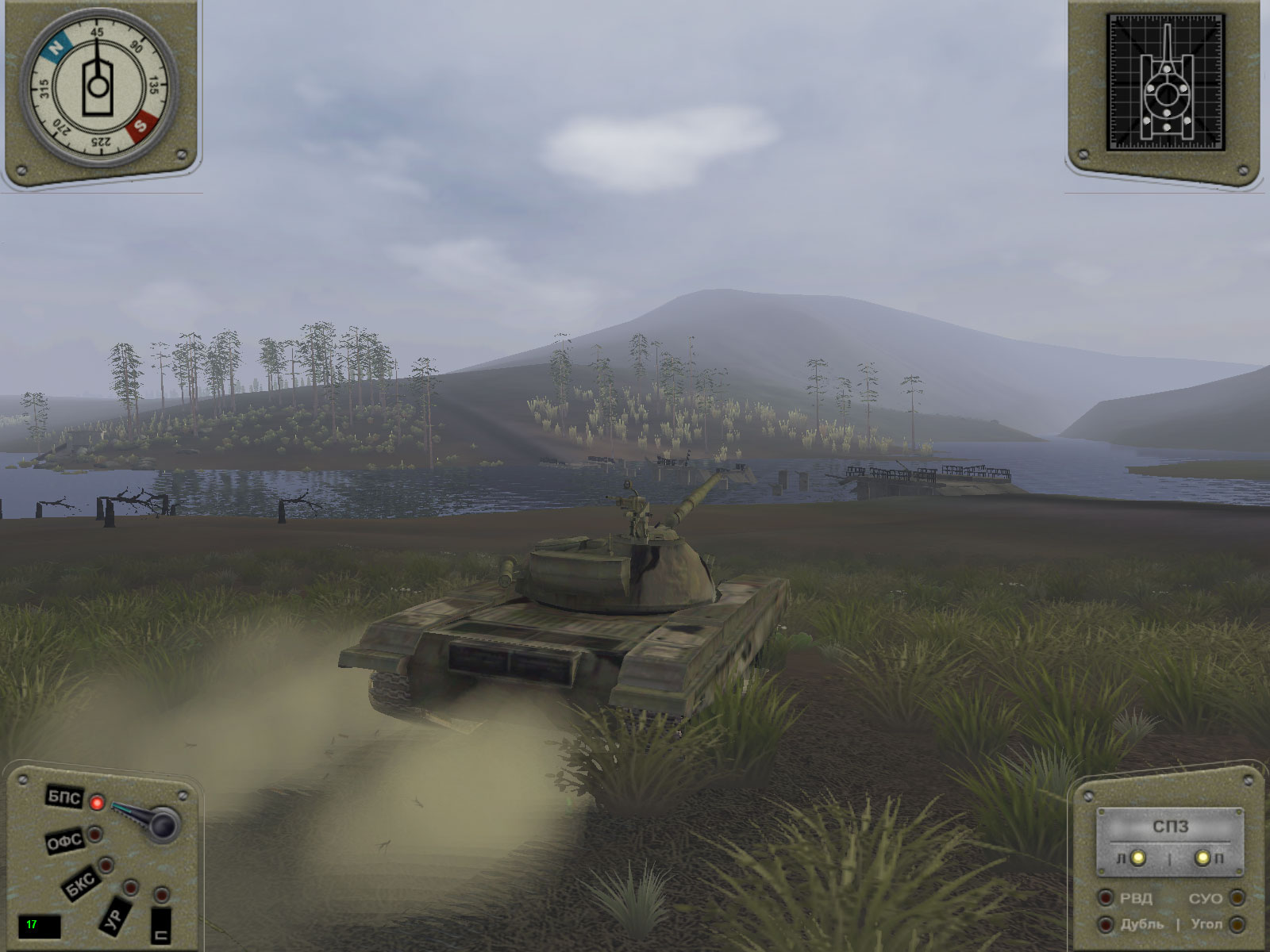 Iron Warriors: T - 72 Tank Command  screenshot